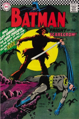 Batman #189 (February 1967): First Silver Age Scarecrow Appearance. Click for value