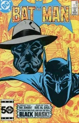 Batman #386: 1st Appearance of Black Mask. Click to see values