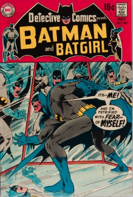 Detective Comics #389 (July 1969): Who Is More Frightening? Click for values