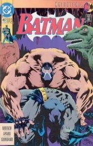 Batman #497: Bane breaks Batman's back
