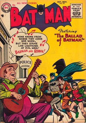 Batman #95, October 1955. Click for value