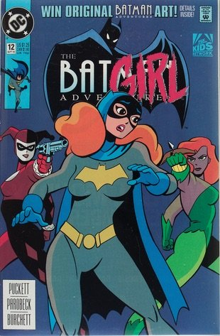 The Batman Adventures #12, 2003 (not canonical), first Harley Quinn in comic books. Click for value