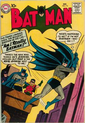 Origin and First Appearance, Signalman, Batman #112, DC Comics, 1957. Click for value