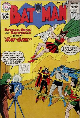 Hot Comics #73: Batman #139, first Bat-Woman. Click to buy a copy