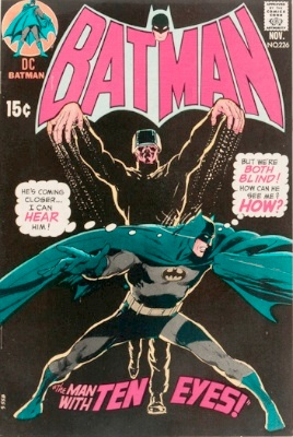 Origin and First Appearance, Ten-Eyed Man, Batman #226, DC Comics, 1970. Click for value