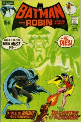 Key Issue Comics: Batman 232, 1st Appearance of Ra's al Ghul, Neal Adams cover. Click to buy a copy