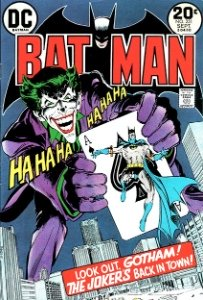 Batman #251 (January 1973): Neal Adams classic Joker cover. Click for values
