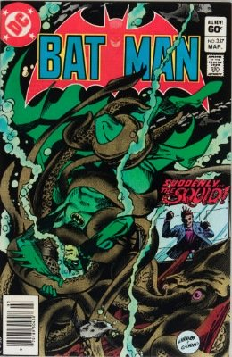 Origin and First Appearance, Killer Croc, Batman #357, DC Comics, 1983. Click for value