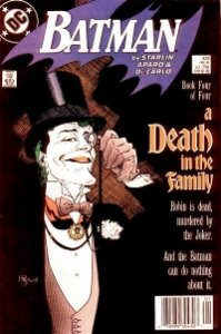 Batman Comics #429, Joker cover, concludes A Death in the Family series