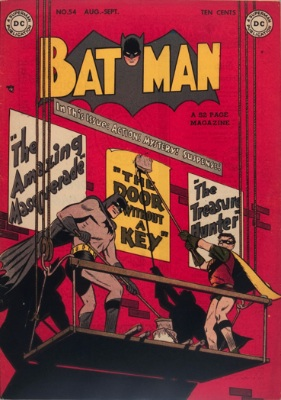 Batman Comic #54. Click for value