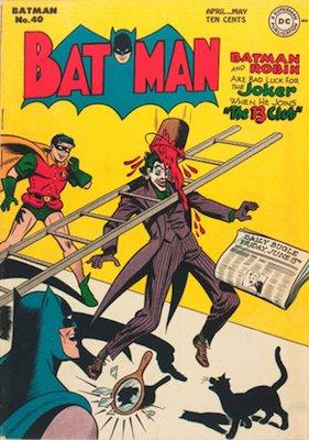 Batman Comic #40. Joker cover. Click for value