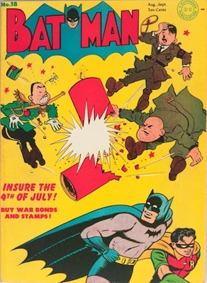 Batman #18, August 1943. Click for value