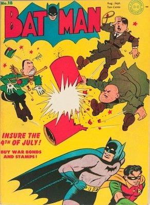 Batman #18, August 1943. Click for value