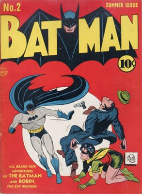 Batman Comic #2: 2nd Appearance, Name Changes to Catwoman. Click for values