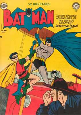 Batman Comic #60. Click for value