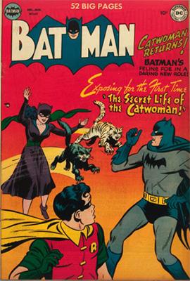 Batman #62: Origin of Catwoman / Selina Kyle. Click for value