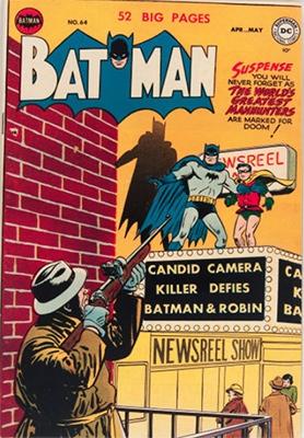Batman Comic #64, April 1951. Click for value