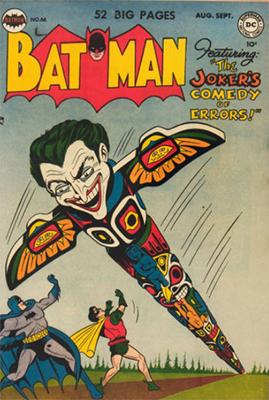 Batman #66: Politically Incorrect Cover. Click for value