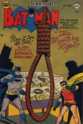 Batman #67, October 1951. Click for value