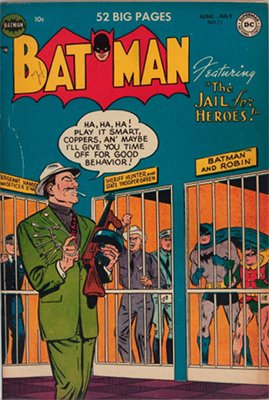 Batman Comic Prices: Issue #71, June 1952. Click for value