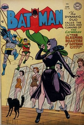 Batman Comic #84. Sexy Catwoman cover! Click for value