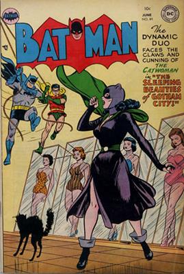 Batman Comic #84. Sexy Catwoman cover! Click for value