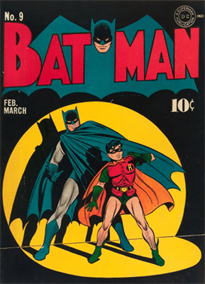 Batman #9, Record sale: $28,000. Click for values