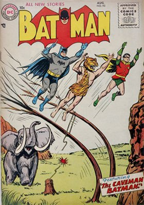 Batman #93, August 1955. Click for value