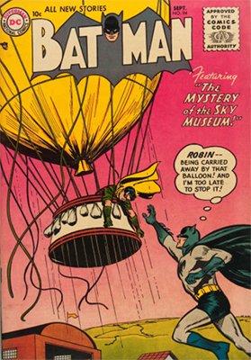 Batman #94, September 1955. Click for value