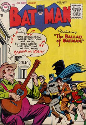 Batman #95, October 1955. Click for value