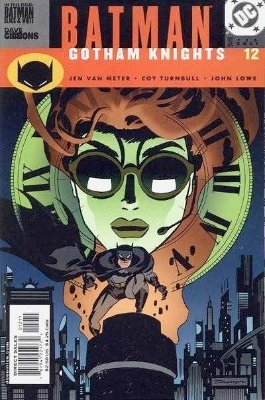 Origin and First Appearance, Black and White Bandit, Batman: Gotham Knights #12, DC Comics 2001. Click for value