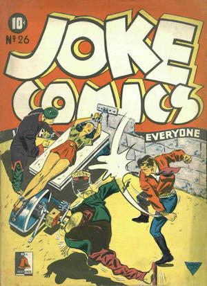 Bell Features Joke Comics #26