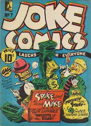 Bell Features Joke Comics #7