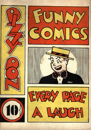 Canadian Whites: Bell Features The Funny Comics #1
