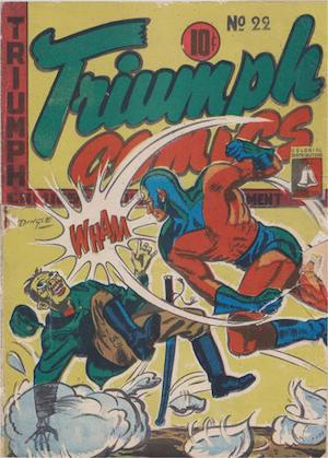 Bell Features Triumph Comics #22