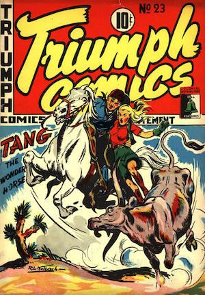 Bell Features Triumph Comics #23