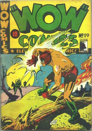 Bell Features WOW Comics #29