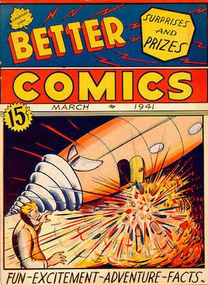 Canadian Whites: Maple Leaf Better Comics v1 #1