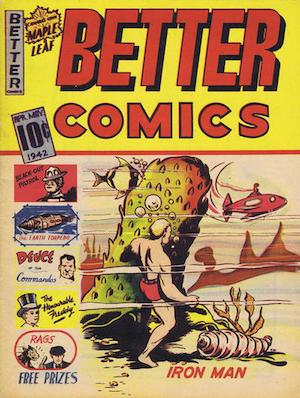 Maple Leaf Better Comics v2 #1
