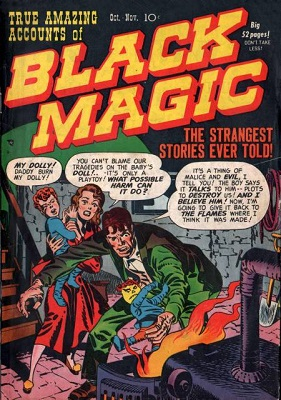 Black Magic #1 (1950): First issue of series; Jack Kirby cover. Click for value