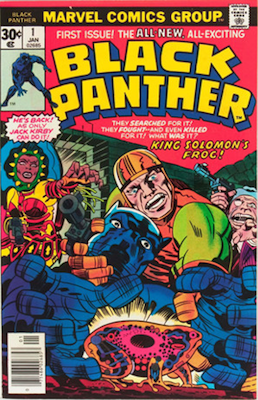 Black Panther #1 (Marvel, 1977): First Dedicated Black Panther Marvel Comic Book. Click for values