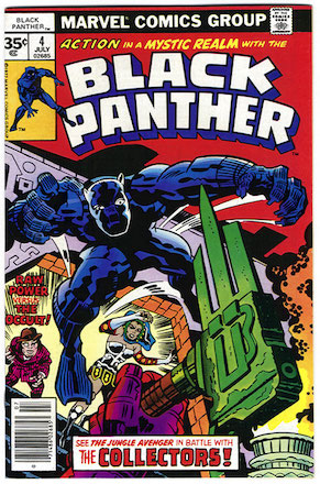 Black Panther #4 35c Price Edition