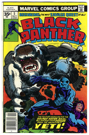 Black Panther #5 35c Price Variant