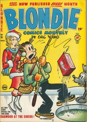 Blondie Comics Monthly #16 (March 1950): 1st Harvey Issue. Click for values