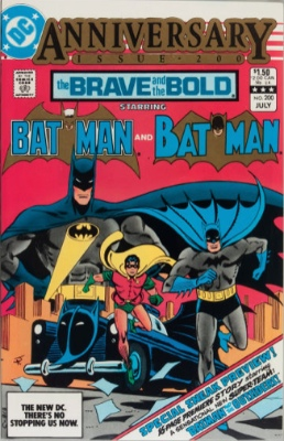Origin and First Appearance, the Outsiders, Brave and the Bold #200, DC Comics, 1983. Click for value