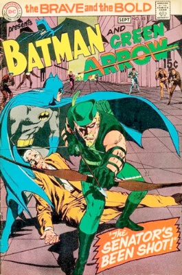 The Brave and The Bold #85 (September 1969): Green Arrow's New Look and New Costume. Click for value