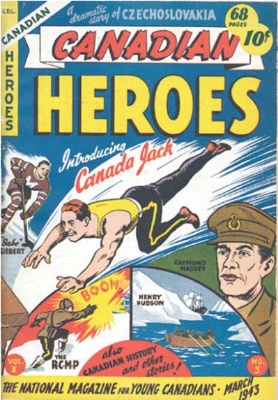 Canadian Heroes #5: Origin and First Appearance, Canada Jack