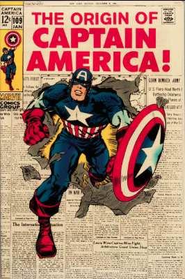 Captain America #109—Origin Retold. Click for value