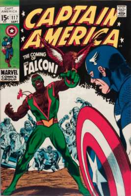 Origin and First Appearance, Falcon, Captain America #117, Marvel Comics, 1969. Own this comic book? Have your copy appraised free.