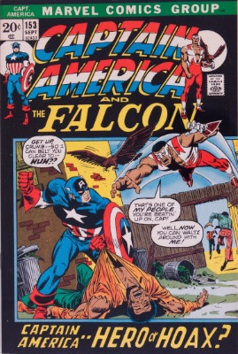 Origin and First Appearance, Grand Director, Captain America #153, Marvel Comics, 1972. Click for value